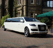 Audi Q7 Limo in Birmingham, Derby, Coventry and Midlands