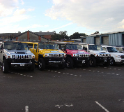 Jeep Limos and 4x4 Limos in UK
