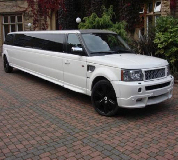 Range Rover Limo in Birmingham, Derby, Coventry and Midlands