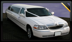 White Lincoln Towncar Limor
