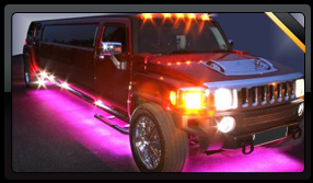 Red Hummer Limousine